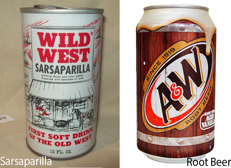 Sarsaparilla vs Root Beer 5