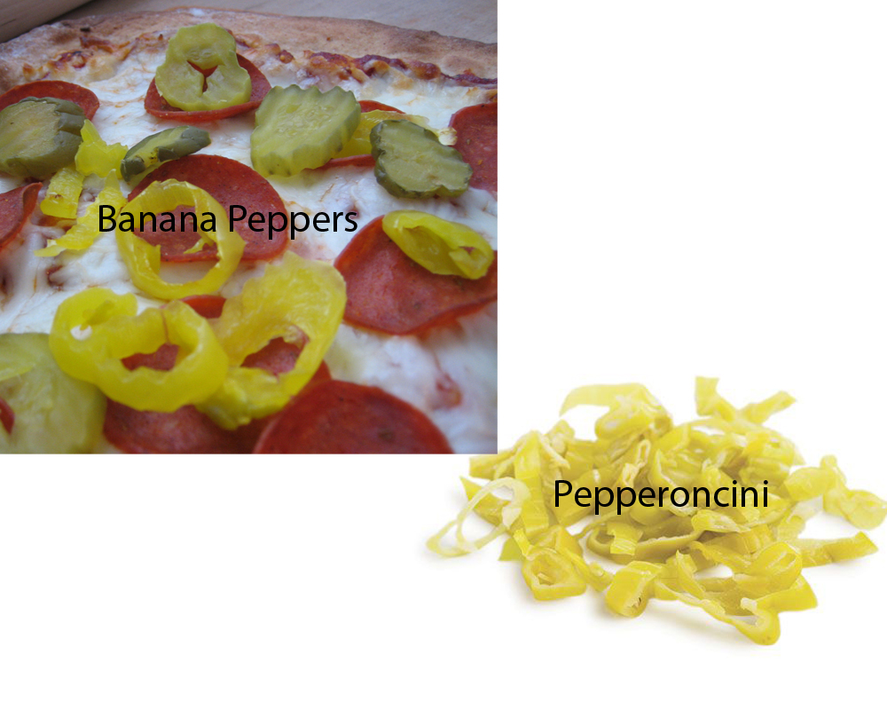 Banana Peppers vs Pepperoncini 4