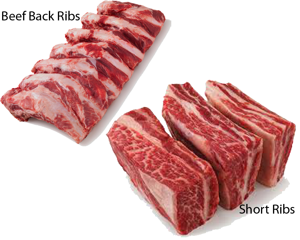 Beef Back Ribs vs Short Ribs 1