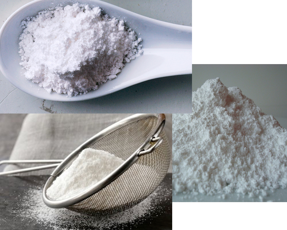 Caster Sugar vs Powdered Sugar 4