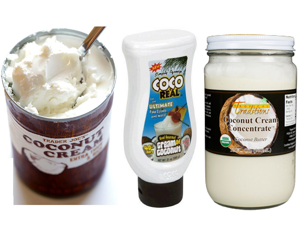 Coconut Cream vs Coconut Milk a
