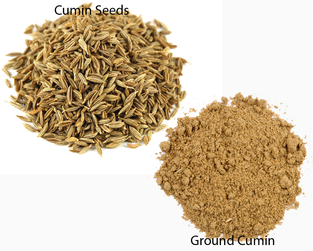 Cumin Seeds vs Ground Cumin 1
