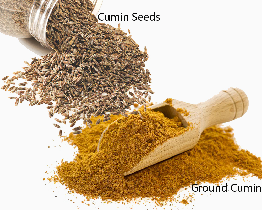 Cumin Seeds vs Ground Cumin 2