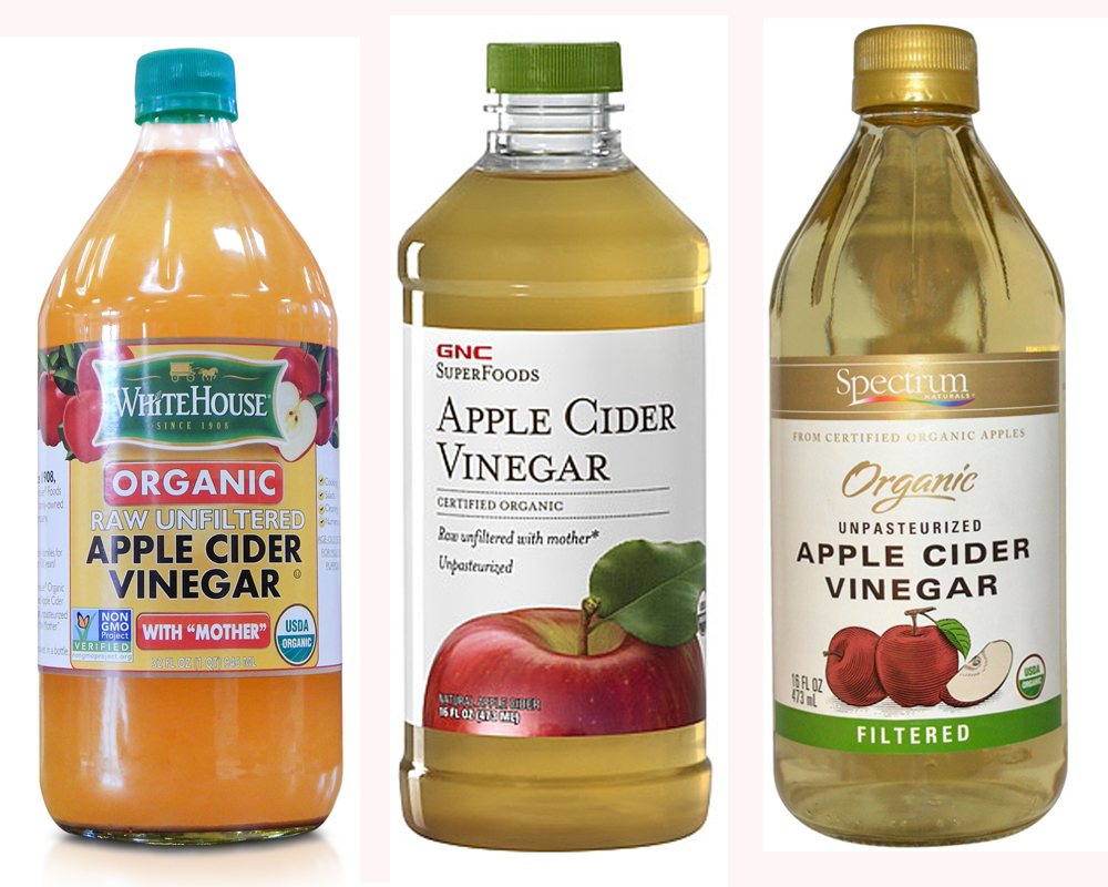 Distilled Vinegar vs Apple Cider Vinegar b