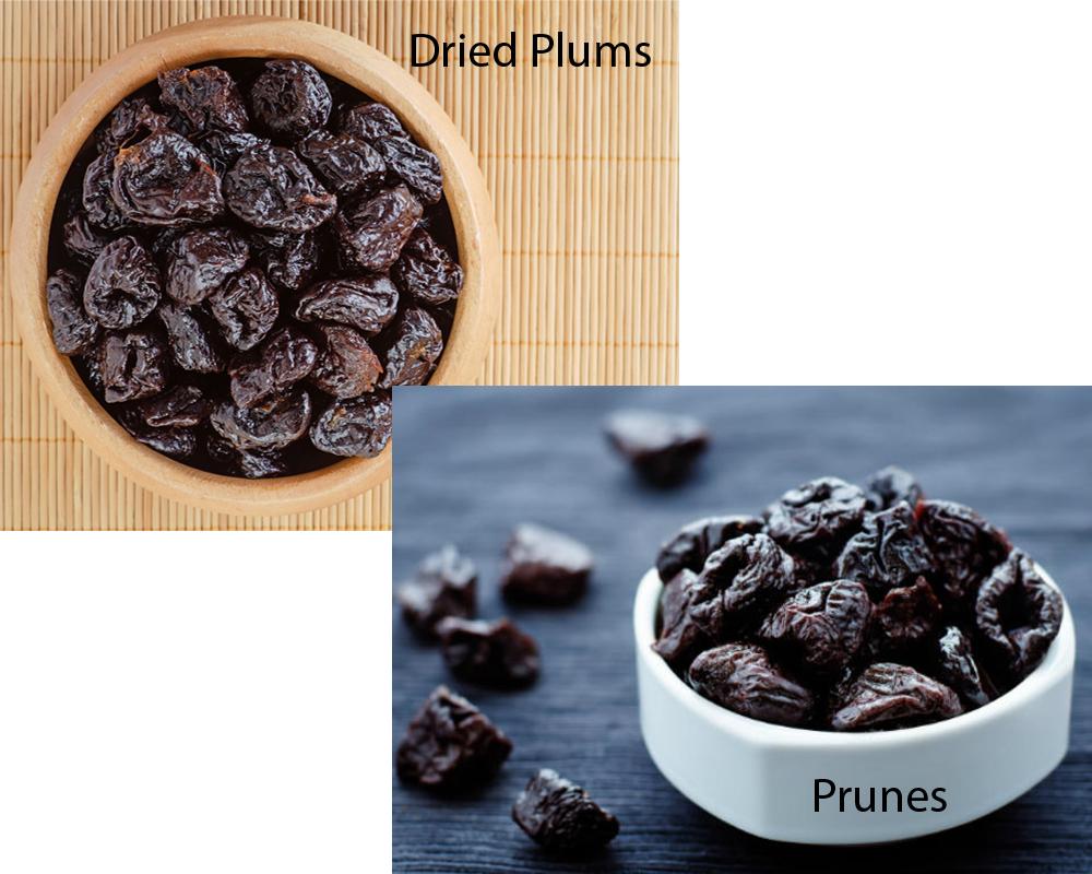 Dried Plums vs Prunes 1