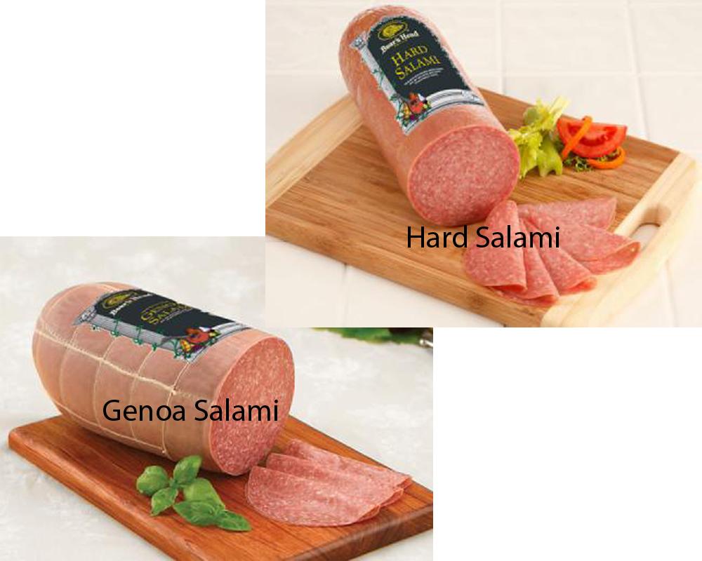 Genoa Salami vs Hard Salami 2