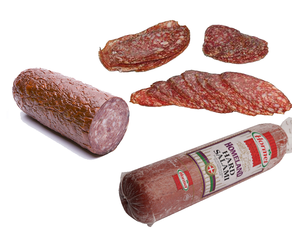Genoa Salami vs Hard Salami b