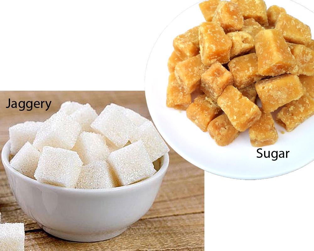 Jaggery vs Sugar 1
