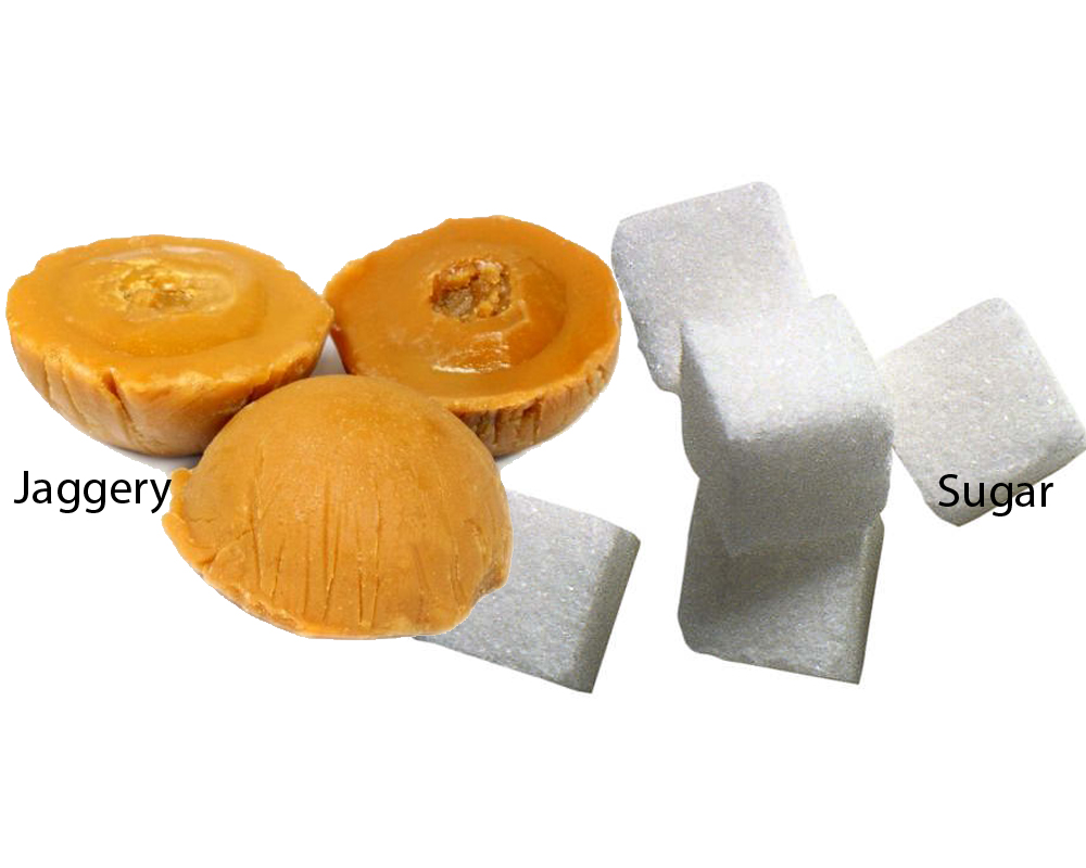 Jaggery vs Sugar 2