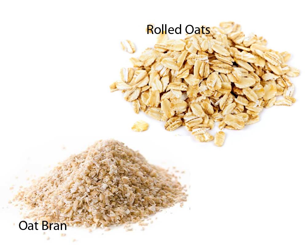Oat Bran vs Rolled Oats 1