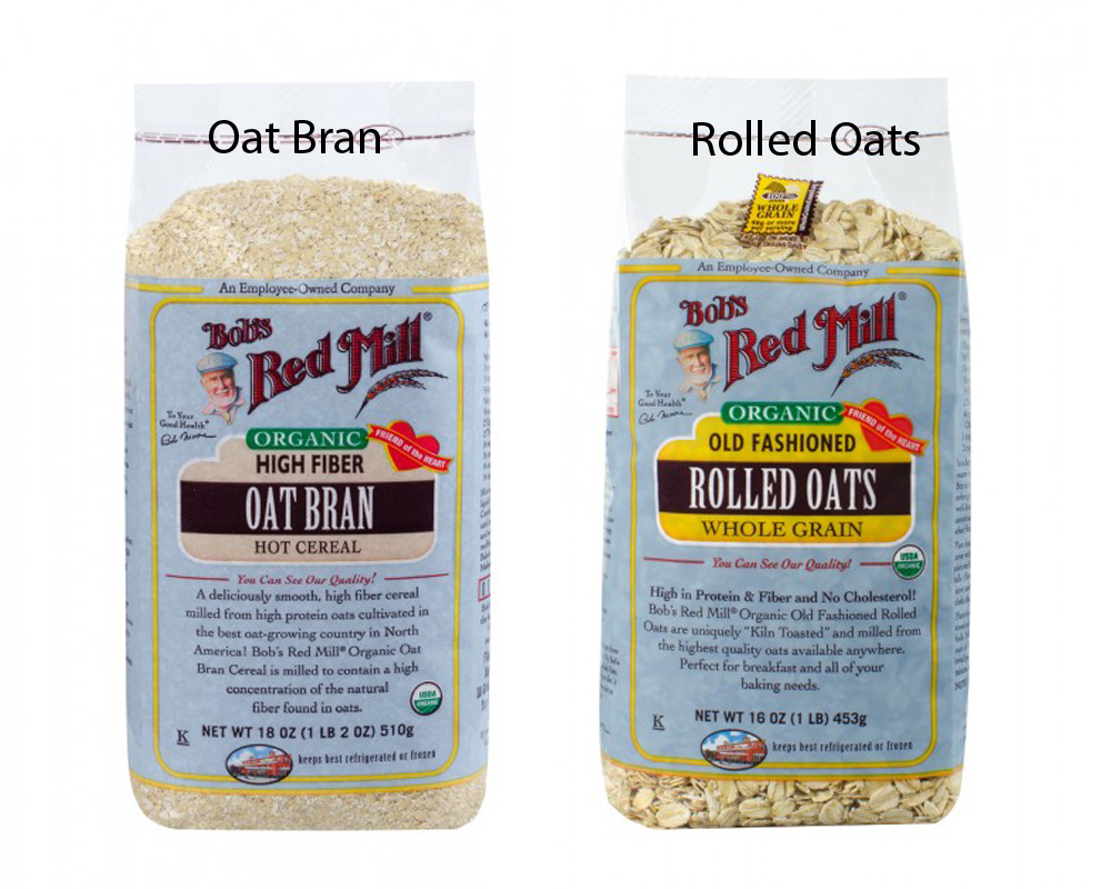 oat bran vs rolled oats thosefoods