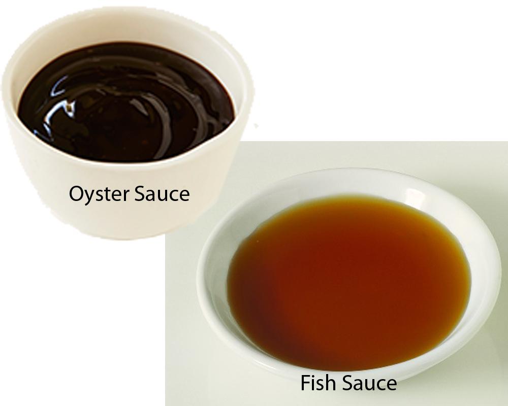 Oyster Sauce vs Fish Sauce 2