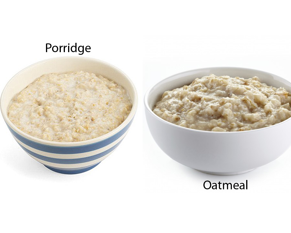 ... oatmeal is made of processed oat groats that can be served in many