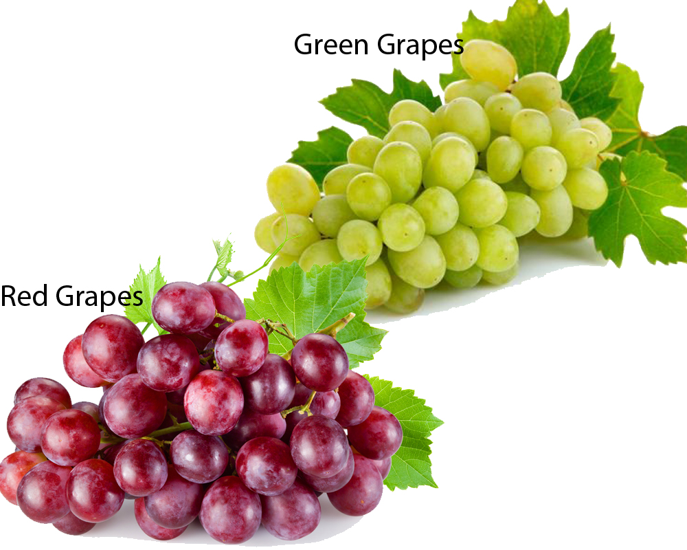 Red Grapes vs Green Grapes 2