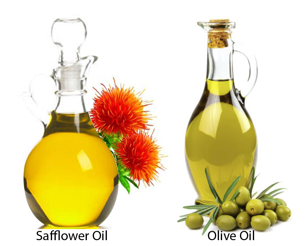 Safflower Oil vs Olive Oil 1
