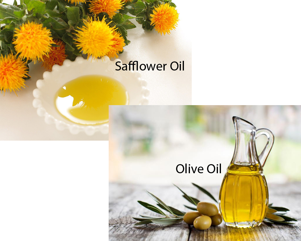 Safflower Oil vs Olive Oil 2