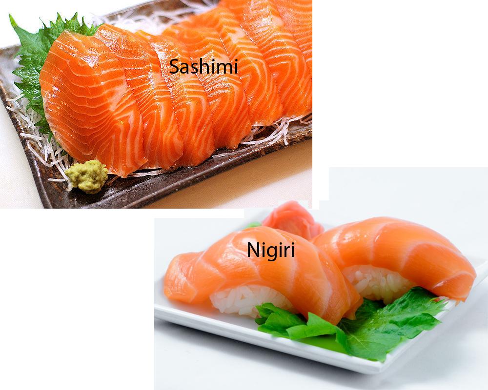 Sashimi vs Nigiri 2