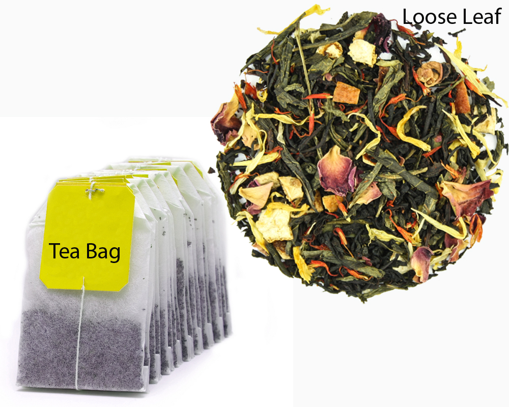 Tea Bag vs Loose Leaf 2