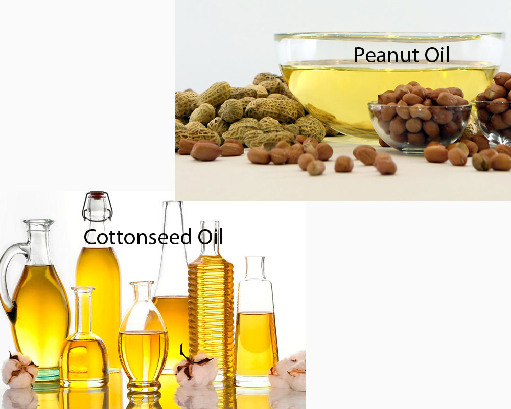 Cottonseed Oil vs Peanut Oil 2