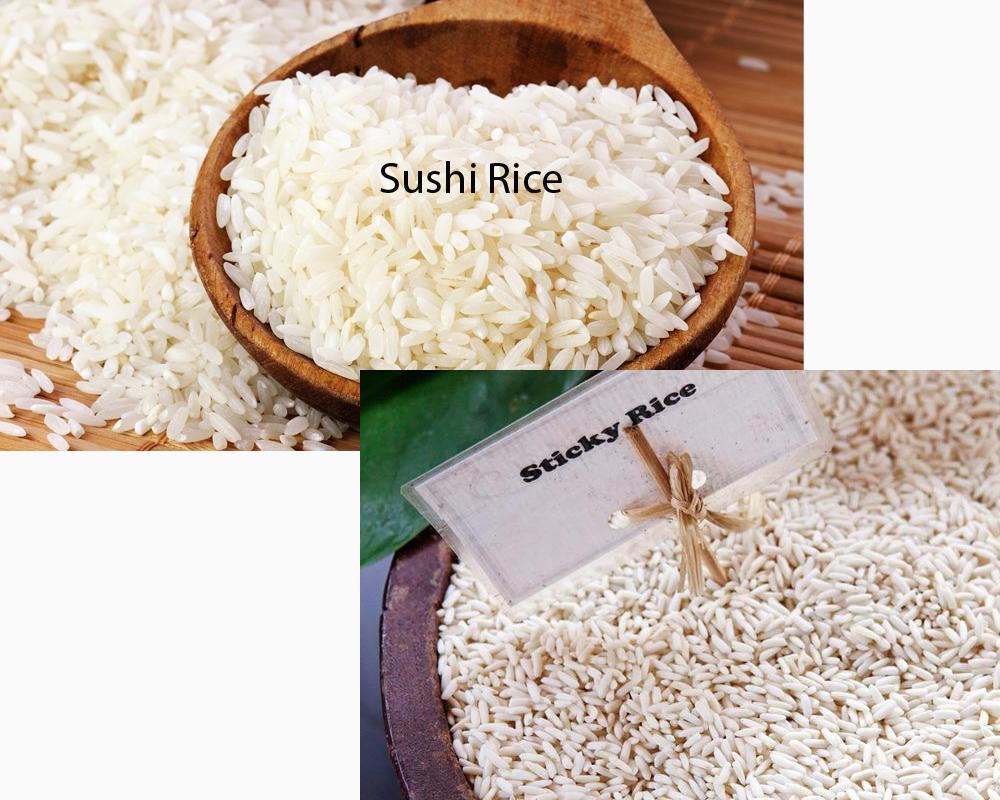 Sushi Rice vs Sticky Rice 2