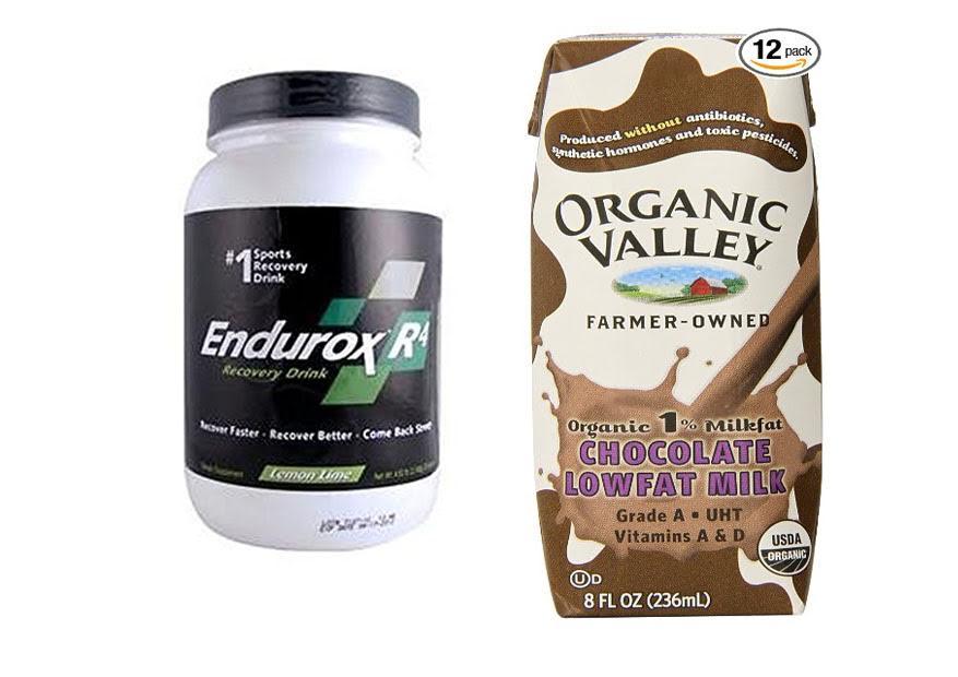 Endurox R4 vs Chocolate Milk