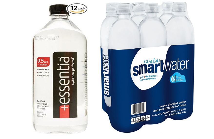 Essentia Water vs Smart Water