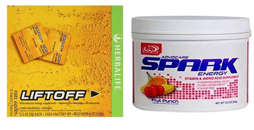 Herbalife Liftoff vs Advocare Spark