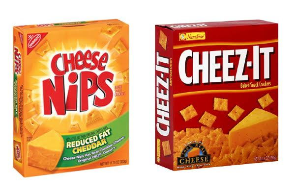 Cheese Nips vs Cheez Its
