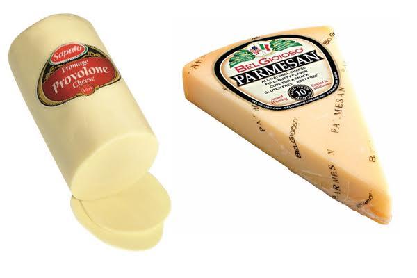 Provolone vs Parmesan