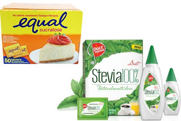 Sucralose vs Stevia