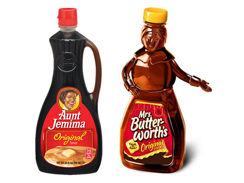 Aunt Jemima vs Mrs Butterworth Syrup
