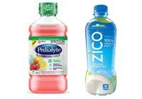 Pedialyte vs Coconut Water
