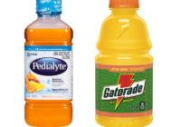 Pedialyte vs Gatorade