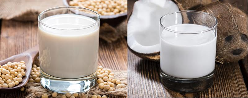 Soy Milk vs Coconut Milk