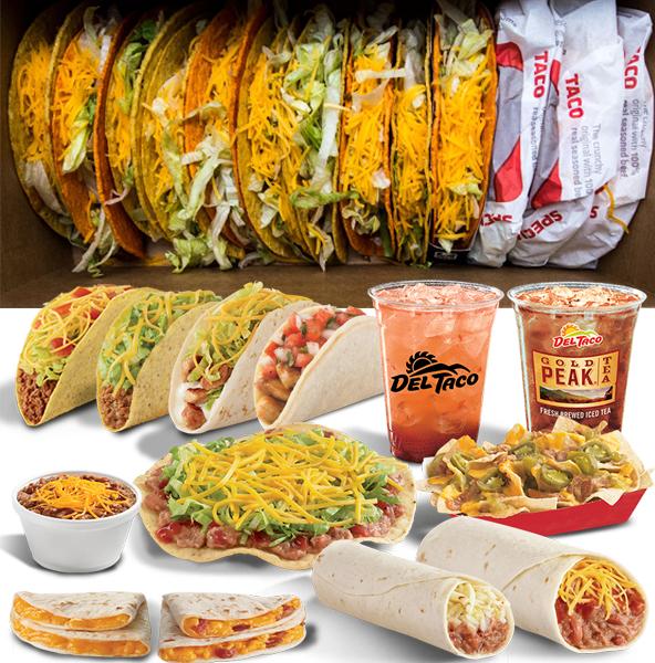 Taco Bell vs Del Taco