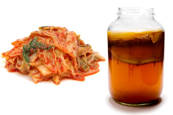 Kimchi vs Kombucha