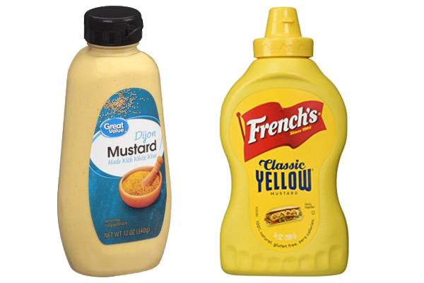 dijon mustard vs yellow mustard