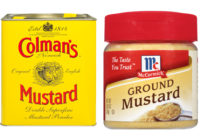 dry mustard vs ground mustard