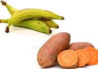 plantains vs sweet potatoes