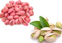 red pistachios vs white pistachios