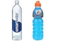 Smart Water vs Gatorade 1