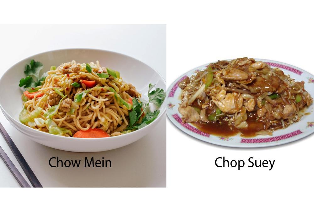 Chow Mein vs Chop Suey 5