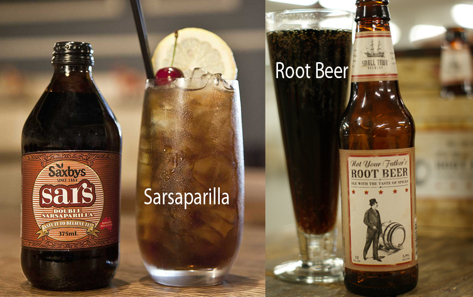 Sarsaparilla vs Root Beer 1