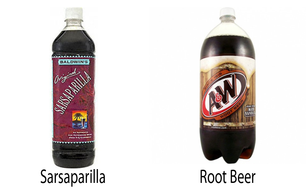 Sarsaparilla vs Root Beer 2