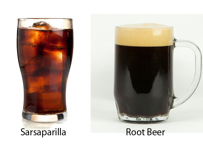 Sarsaparilla vs Root Beer 4