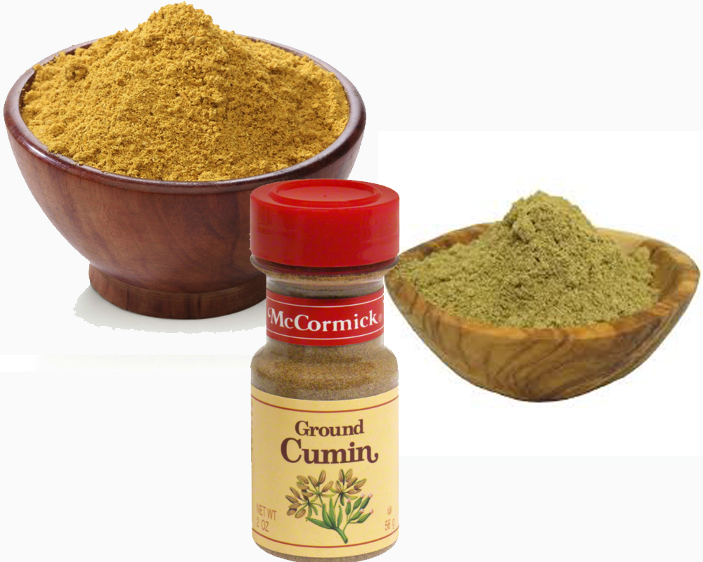 Cumin Seeds vs Ground Cumin b