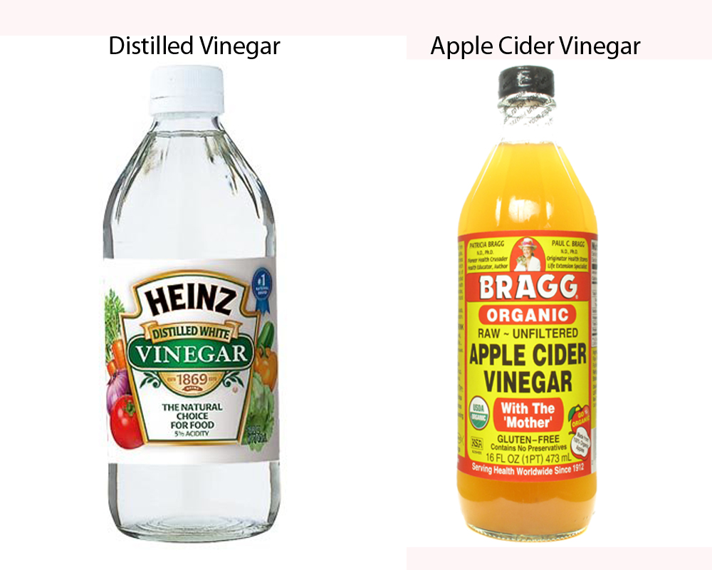 Distilled Vinegar vs Apple Cider Vinegar 1