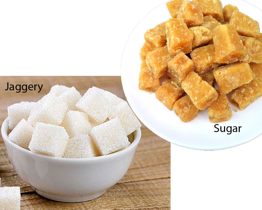 Jaggery vs Sugar 1