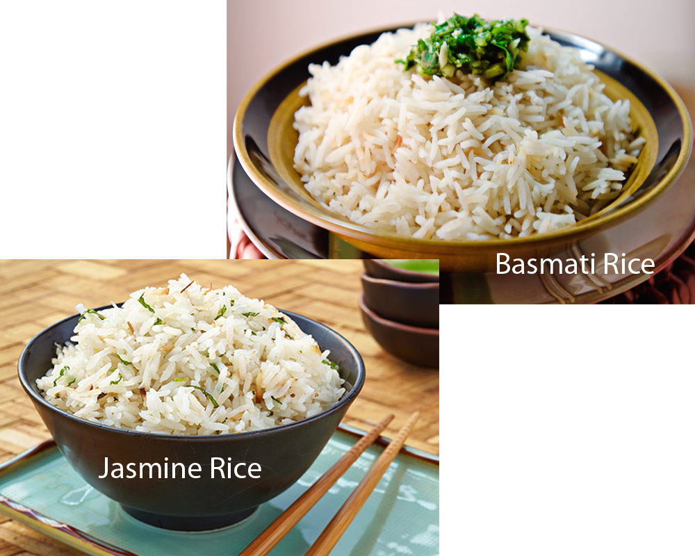 Jasmine vs Basmati Rice 2