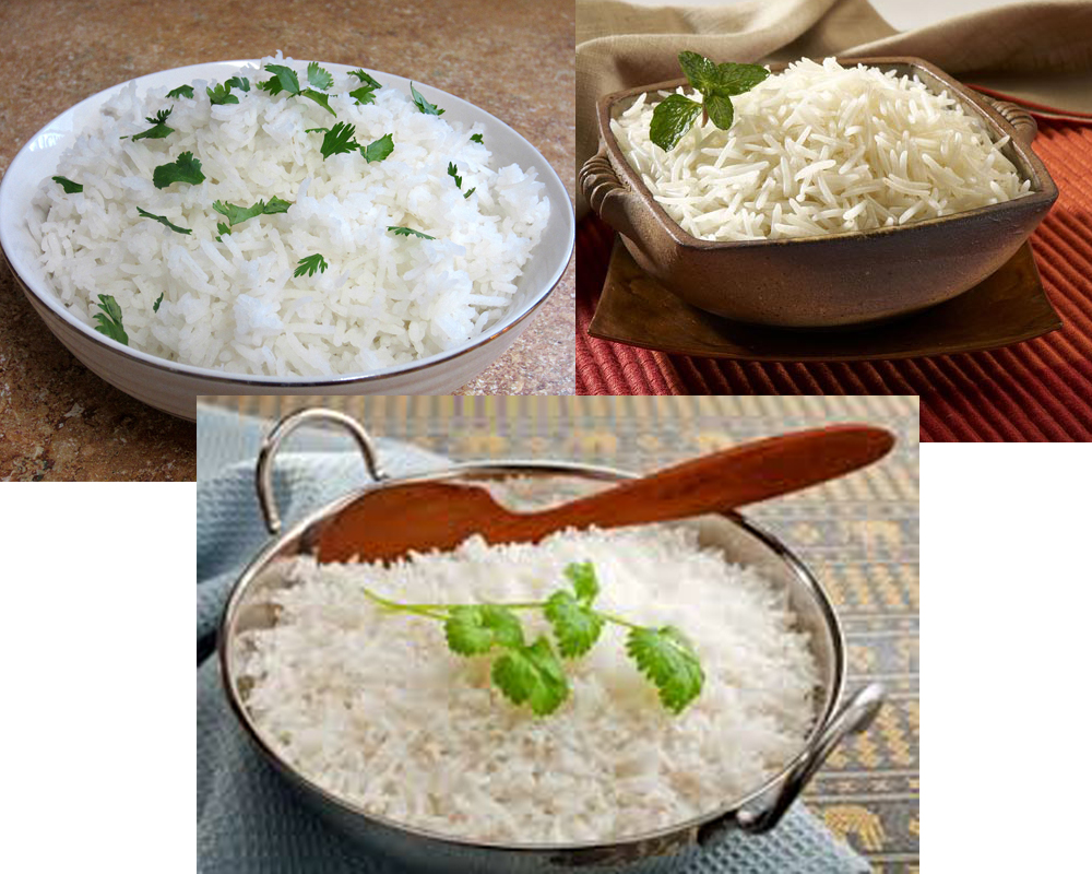 Jasmine vs Basmati Rice b